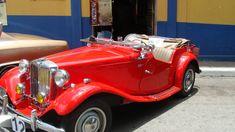 MG Sports car 1949. A Vintage sports car