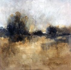 """Gold Country by Simon Addyman Oil ~ 54"""" x 54"""""""