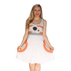 BB-8 A-Line Dress...I NEED THIS