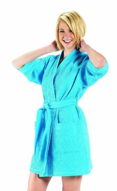 runway robe chic pullover kimono dress robe fitted cotton stretch
