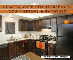 In Some Apartment Homes You May Notice That The Countertops Or Bathtubs Have Recently Been