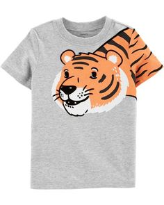 dd4c2baa Baby Boy Tiger Jersey Tee from Carters.com. Shop clothing & accessories  from a