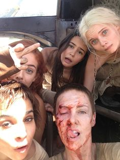 years ago, Mad Max: Fury Road was released. As you know by now, it was a grueling, intense shoot but my god was it all worth it. Went back into the vault to find some of my favorite moments behind the scenes Mad Max Fury Road, Girl Tongue, Charlize Theron Oscars, Best Action Movies, Shave My Head, Zoe Kravitz, Young Actresses, Music Film, Best Funny Pictures