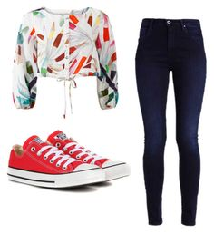 """""""Mila's casual wear"""" by pantsulord on Polyvore featuring Mara Hoffman and Converse"""