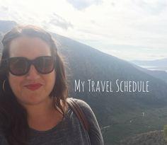 My Travel Schedule