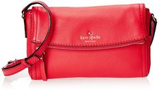 Women's Cross-Body Handbags - kate spade new york Cobble Hill Mini Carson Cross Body Geranium One Size >>> You can get additional details at the image link.