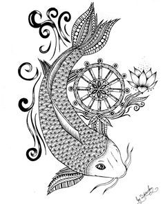 KOI FISH Many of the attributes of the koi symbolize several lessons and even trials individuals often encounter in life. The koi fish has a powerful and energetic life force, demonstrated by its ability to swim against currents and even travel...