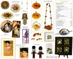 Jill Oxton's Cross Stitch & Bead Weaving Magazine Issue 94, contents page. Available from Australian Needle Arts