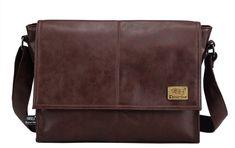 Big Discount Designer Handbags Men s 14 Inch Laptop Bag Male PU Leather  Messenger Bags Men Travel 5de1fbbfd9402