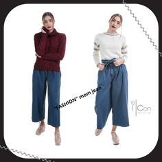 Mom Style, Mom Jeans, Capri Pants, Collection, Women, Fashion, Moda, Capri Trousers, Fashion Styles