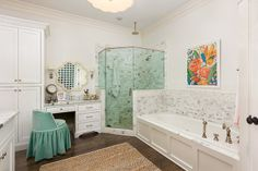traditional bathroom by Colordrunk Designs