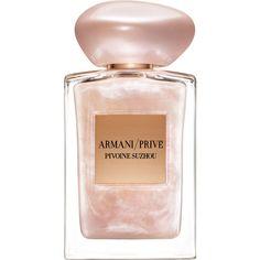 Giorgio Armani Limited Edition Pivoine Suzhou Soie de Nacre found on Polyvore featuring beauty products, fragrance, perfume, giorgio armani fragrance, giorgio armani and giorgio armani perfume