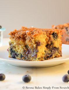 Blueberry Cinnamon Swirl Coffeecake