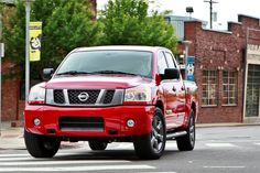 This photo gallery goes out to all the Nissan truck lovers! The rugged, reliable and innovative 2012 Nissan Titan is an excellent value for truck buyers. 2014 Nissan Titan, Toys For Boys, Boy Toys, Nissan Trucks, Cars Usa, Bike, Specs, Vehicles, Engine