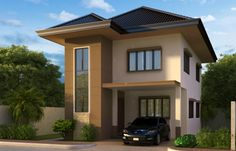 In the Philippines especially in the rural areas, we are constrained with limited spaces, narrow lots and two story house plans are a good choice for your future house. Description from pinoyhouseplans.com. I searched for this on bing.com/images