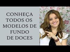 """Forminha para Doces - Tela Escócia """"LÍRIO REAL"""" - YouTube"""