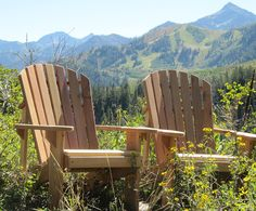 Adirondack Chair Kits Unfinished (2) - Western Red Cedar
