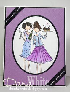 dana's house of cards: Felicity and Blair