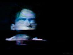 analog(one): analog glitch art by Rob Sheridan, via Behance Blur, Glitch Tv, Rob Sheridan, Dark Look, Color Photography, Photo Manipulation, Horror Movies, Creepy, Weird