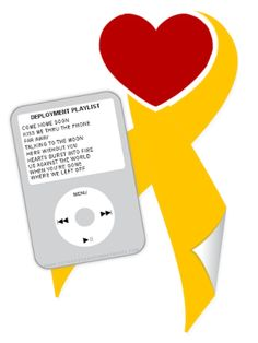 """""""Cupcakes & Combat Boots: Deployment Playlist.""""  Great list of songs.  What would you add? - MilitaryAvenue.com"""