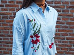 blouse-met-print-8 #blouse #embroidery #zaful