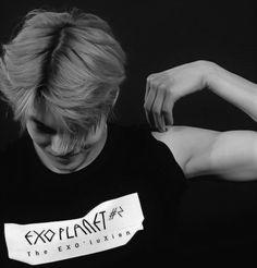 So beautiful Kai. EXO. Cre: the owner/as logo