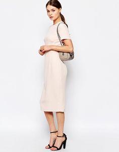 New Look Crepe Midi Dress