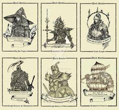 Dark Souls Cards by Aurora-Unit242