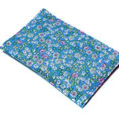 Fête des mères : étui bleu carte grise assurance permis en tissu fleuri