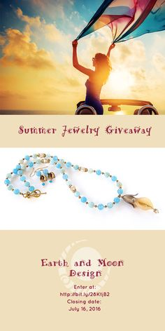 You can win this necklace just by entering our giveaway.