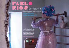 Cartel concierto / Cliente: Pablo Ríos / 2016