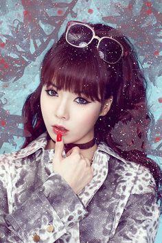 Hyuna 4minute POP UK Magazine Spring/Summer 2013
