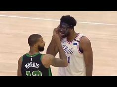 82c9c31d34e8 NBA New   Fights Trash Talks   Playoffs Moments - YouTube