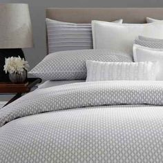 product image for Barbara Barry® Ascot Pillow Sham in Smoke