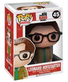 Big Bang Theory Leonard Hofstadter Pop! Vinyl Figure: Amazon.co.uk: Toys & Games