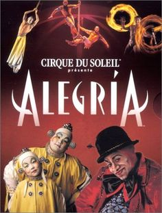 Cirque du Soleil - Alegria I want to see this so bad!