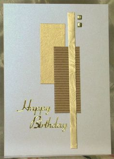 Birthday card #handmade
