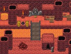 Make Own Game .com: RPG Maker Dungeons & Volcanoes Tile Pack !