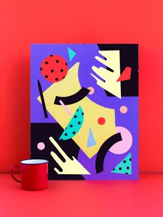 PAPER AND SCISSORS ABSTRACT 2015 #artdirection #illustration #painting #jablonskimarketing #marketing