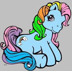 My Little Pony In The Old Days Pictures to Pin on Pinterest ...