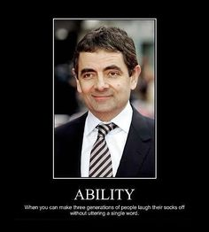 I love Mr. Bean!