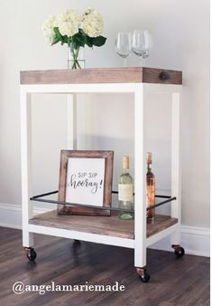 DIY Bar Cart - Free
