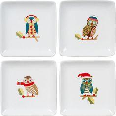 Owl plates #boden  #magicalmenagerie