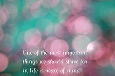 inner peace | Inner Peace Award | It's ME