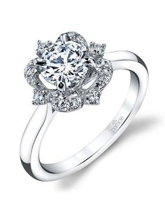 Parade Design Style R3672 from the Hemera Collection Engagement Ring photo