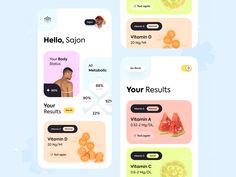 Best Vitamin C, Vitamin D, Motion App, All Vitamins, D 20, App Design, Metabolism, Cool Designs, Marketing