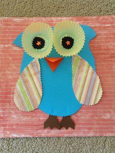 Scrapbook Paper Owls