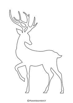 22 silhouettes of reindeer for printing and cutouts – Diy Crafts – Marecipe - Holzarbeiten Christmas Yard Art, Christmas Crafts, Christmas Ornaments, Applique Cushions, How To Store Shoes, Christmas Templates, Silhouette Art, Christmas Embroidery, Christmas Wallpaper