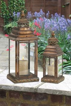 Love outdoor lanterns! Also looks beautiful indoors if your decor works.