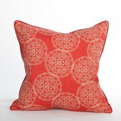 Jellyfish Pillow - St John Collection   Beach Pillow   Coastal Pillow
